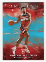 2019-20 Panini Origins Admiral Schofield Base Parallel #'d /25 SP (Wizards)