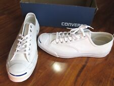 NEW Converse Jack Purcell Signature Ox Shoes MEN 12 White Leather 149909C $125
