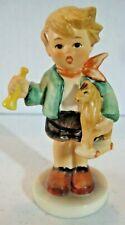 Goebel Hummel figurines W. Germany 1967 boy w/toy horse & bugle #239/c