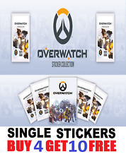 Overwatch Sticker Collection Single Stickers Buy 4 get 10 FREE! FREE Post! 1-250