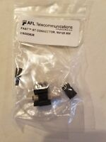 CS000828 AFL Telecom FAST Pre-Polished ST MM Fiber Optic Connectors - Lot of 30