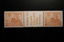 Berlin postfrisch Mi.Nr. W32 geprüft 4 Pfennig Bauten-Zusammendruck 1952