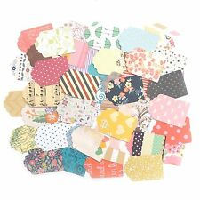 25 X Mixta Papel Estampado Etiquetas Scrapbooking Craft cardmaking Vintage Toppers