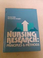Nursing Research: Principles & Methods Polit/Hungler 1978