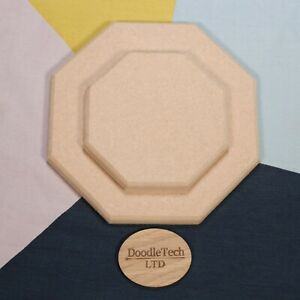 Octagon with Rounded Edge 12mm, 18mm Thick MDF 100mm - 600mm Diameter - Shape