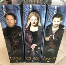 NIB Once Upon A Time ICON HEROES Action Figures EMMA SWAN HOOK ROBIN HOOD