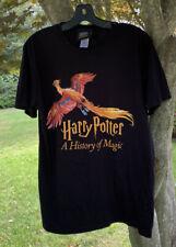 Harry Potter History Of Magic Tee Sz M New York Historical Society T-Shirt Rare
