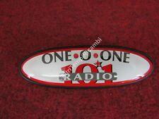 LOGO STEMMA EMBLEMA FREGIO ONE O ONE RADIO 101 RENAULT KANGOO - MASTER - CLIO