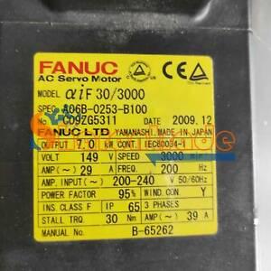 1PCS Used Fanuc servo motor A06B-0253-B100 Tested