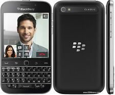 Original BlackBerry Classic Q20 16GB - Black (Unlocked) Smartphone QWERTY Touch