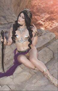 Dejah Thoris VS. John Carter of Mars #2 Cosplay Virgin Variant 1 in 21 Cover  NM