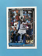 Shaquille O'Neal 1992-93 Topps Rookie Card #362 Orlando Magic - Low Shipping 🏀