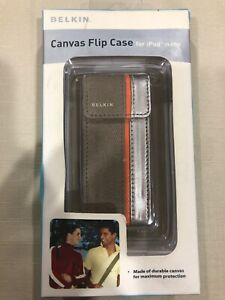 Belkin Canvas Flip Case For Ipod Nano F8Z129-BT