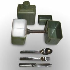 Vintage Yugoslavian Army Mess Tin Set Camping Cooking Survival Flask KFS Cup UK
