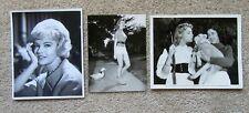 KATHLEEN HUGHES ORIGINAL 1950's SET OF 3BW PHOTO STILLS EX