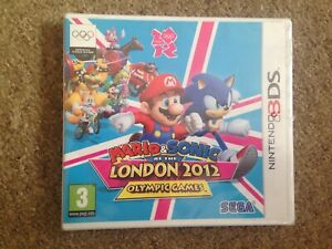NINTENDO 3DS MARIO AND SONIC AT THE LONDON 2012 OLYMPIC GAMES BNIB SEALED