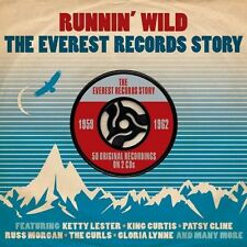 RUNNIN' WILD-EVEREST RECORDS STORY 1959-1962 (Russ Morgan, Billy Bryan)2 CD NEU