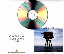AQUILO Silhouette 2016 UK 1-track promo test CD
