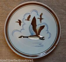 "Vintage STANGL Pottery Plate Charger - ""CANADA GOOSE"" Trenton NJ bird duck"