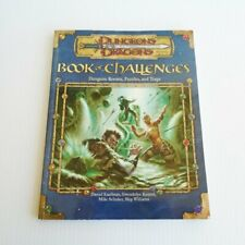 Book of Challenges: Dungeons Dragons RPG d20..New D&D 3.5