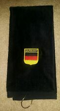 German Flag Shield Golf Towel
