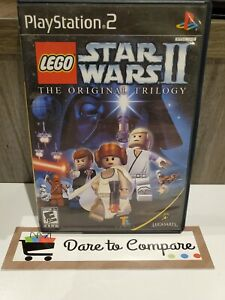 LEGO Star Wars II: The Original Trilogy ps2 (Sony PlayStation 2, 2006) complete