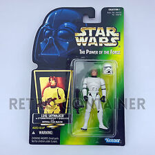 STAR WARS Kenner Hasbro Action Figure - POTF POTF2 - Luke Skywalker Stormtrooper