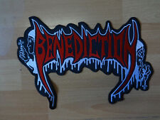 Benediction Backpatch Patch Shape Kutte Import Death Metal Anaal Nathrakh