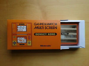 Nintendo Donkey Kong DK-52 Game & Watch 1982 retro game + new box + batteries