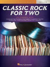 Classic Rock for Two Cellos Easy Instrumental Duets Book New 000303032