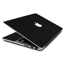 Skin Wrap for MacBook Pro 15 inch Retina  Carbon Fiber Carbon Fibre Graphite
