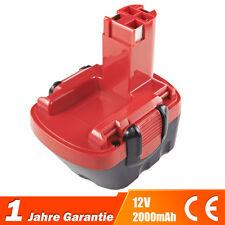 2,0Ah Akku Batterie Bosch GSR 12 VE-2 PSB 12 VE-2 PSR 12 2607335684 2607335692