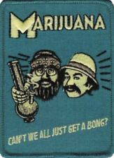 Cheech and Chong Retro Embroidered Patch C005P Weed Marijuana 420 Smoke Pot