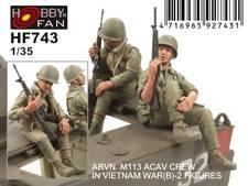Hobby Fan 1/35 HF-743 ARVN M113 ACAV Crew (Vietnam War) (Set.B) - 2 Figures