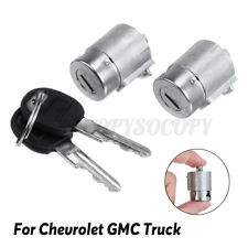 2X Lockcraft Door Lock Cylinder + 2 Keys Replacement For Chevrolet GMC New -/