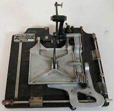 "RARE PA-KO Model ""B"" Printer by PAKO Corporation machine no 7136 antique vintage"