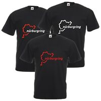 Nurburgring T-Shirt Biker Motorcycle Car Enthusiast VARIOUS SIZES & COLOURS