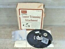 VINTAGE CRAFTSMAN #9_25732 ROUTER LAMINATE TRIMMER ATTACHMENT (COMPLETE)
