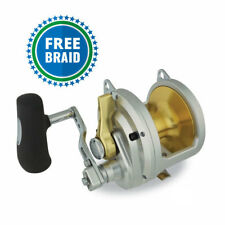 Shimano Talica 50 2 Speed With Free Braid Color of Choice