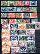 MALAYA STRAITS SETTLEMENTS 1949-1960 STATES SELECTION TO $5.00 USED STAMPS