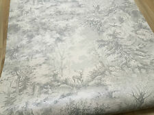 MULBERRY HOME TORRIDON WALLPAPER FG076.J125.0 COLOUR SILVER/GREY..... RRP £95.00