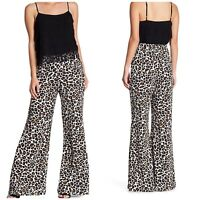 Show Me Your MuMu Eli Trousers Woman Size Small New $150 Cheetah