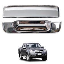 For 06-11 Mazda Bt50 Bt-50 Pickup Ute Tailgate Handle Cover Trim Chrome Pair
