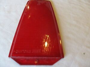 FORD TRANSIT MK 1 RED REAR LIGHT LENS