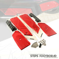 Motorcycle CNC Footboard Steps Footrest Pedal Foot Plate For Honda Forza 300 250