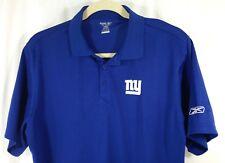 29da78d5d New York Giants NY NFL Reebok Blue Short Sleeve Polo Golf Shirt XL