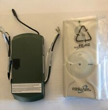 Minka Aire Ceiling Fan Remote and Receiver (TR110A Remote with P001038000S)