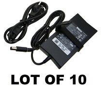 LOT OF 10 Genuine Original OEM DELL 90W Slim AC Adapter WK890 DA90PE1-00 PA-3E