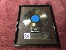 The Fabulous Thunderbirds Album TUFF ENUFF RIAA Sales Award Platinum 1980s