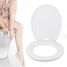 Pp O-shaped Heavy Duty Soft Close Round Toilet Seat Cover Easy Install & Clean